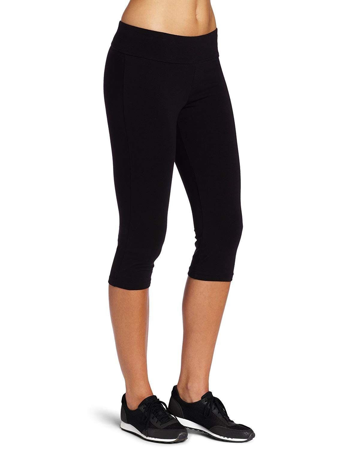 """<h3><a href=""""https://www.amazon.com/Spalding-Womens-Capri-Legging-X-Large/dp/B005GYGEWS"""" rel=""""nofollow noopener"""" target=""""_blank"""" data-ylk=""""slk:Spalding Essential Capri Legging"""" class=""""link rapid-noclick-resp"""">Spalding Essential Capri Legging</a></h3> <p>4.3 out of 5 stars and 4,914 reviews</p> <p><strong>Promising Review:</strong> If you <em>are</em> shopping for a pair of proper workout leggings, then J. Gorman thinks these are the bottoms for you. In an update to their review titled """"<a href=""""https://www.amazon.com/gp/customer-reviews/RJY9AABFCXI3U"""" rel=""""nofollow noopener"""" target=""""_blank"""" data-ylk=""""slk:Solid workout pants for HIIT exercising"""" class=""""link rapid-noclick-resp"""">Solid workout pants for HIIT exercising</a> """" they wrote, """"While there was pilling of fabric early on in the thigh area where it rubs, I have to say over the months they've held up...and I wear/wash them up to two times a week... Note, my workout is a kickboxing HIIT type of workout, I only rarely wear these on a run, and the only walking I do in them is to and from the gym some days, so for the type of workout I do, I'm very satisfied with the fit and the durability.""""</p> <br> <br> <strong>Spalding</strong> Essential Capri Legging, $10.18, available at <a href=""""https://www.amazon.com/Spalding-Womens-Capri-Legging-X-Large/dp/B005GYGEWS"""" rel=""""nofollow noopener"""" target=""""_blank"""" data-ylk=""""slk:Amazon"""" class=""""link rapid-noclick-resp"""">Amazon</a>"""