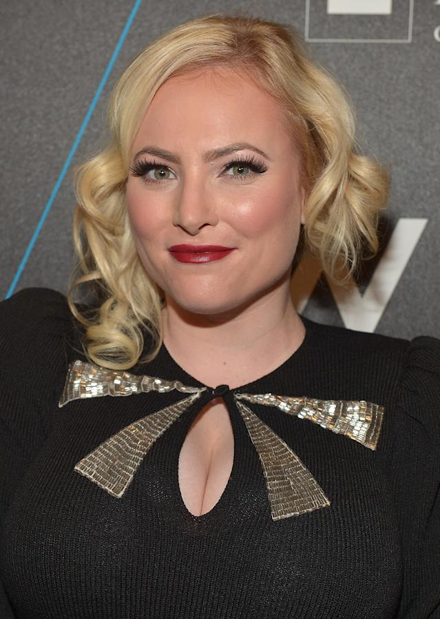 Meghan McCain, pictured in 2015, says she's being treated differently because she's a woman. (Photo: Charley Gallay/Getty Images for W Hollywood)