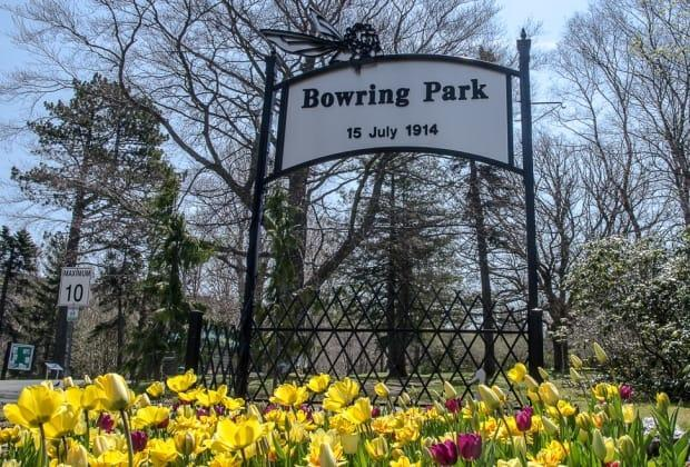 Bowring Park was busy ahead of the long weekend.