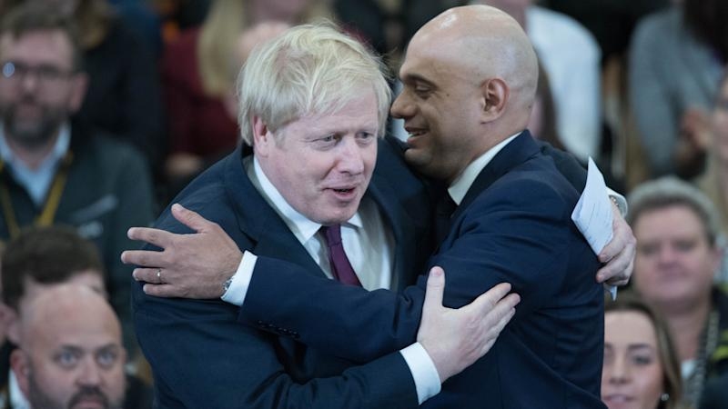 Javid forced out as chancellor after row with PM Johnson