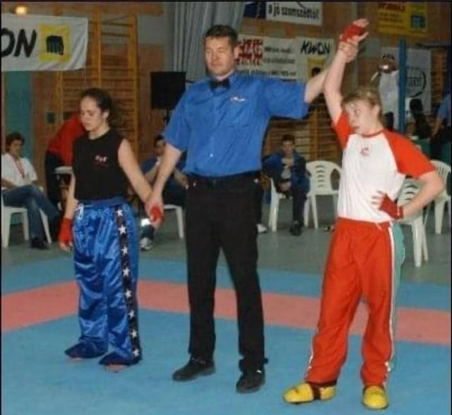 Lauren Price was a world champion kickboxer by the time she was 12 (Picture: Point Communications)