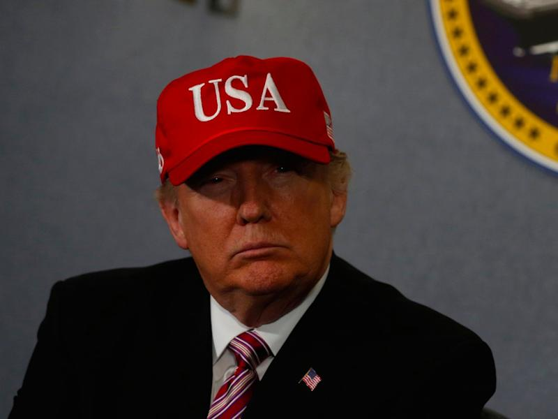 Donald Trump USA Hat