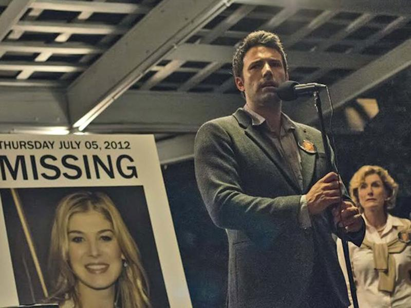 Vallejo police likened it to the plot of 2014 movie Gone Girl staring Rosamund Pike and Ben Affleck (pictured): IMDB