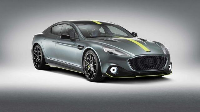 Aston Martin Rapide AMR debuts with 595hp and limited numbers