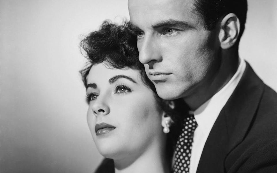 Clift with Elizabeth Taylor, a staunch friend and defender, and his saviour in the 1956 crash - CC