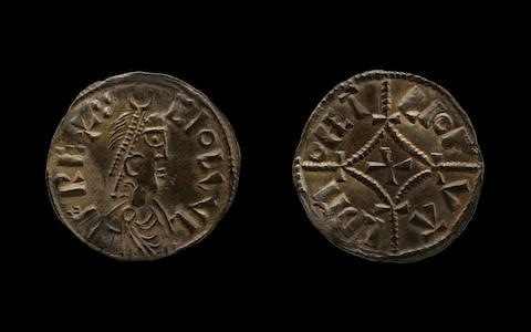 A coin which was part of the £3 million Viking hoard - Credit: British Museum