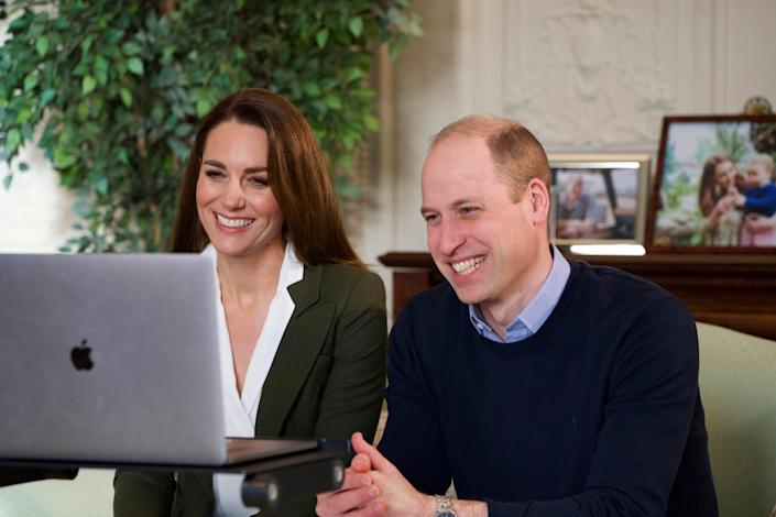 Prince William and Duchess Kate of Cambridge urged Britons to get the COVID-19 vaccination during a video call to people with health conditions about the positive impact of vaccination.