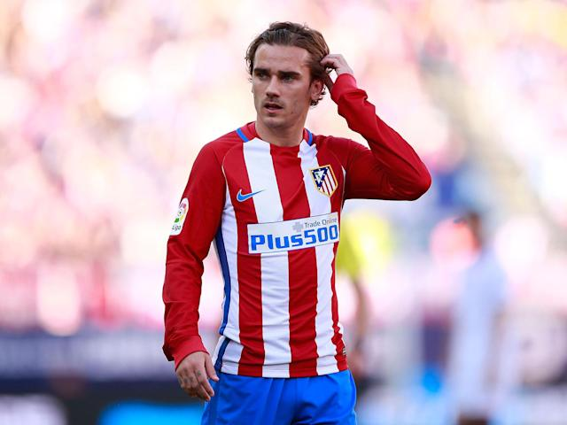 Antoine Griezmann's future has been thrown into doubt by his own manager: Getty
