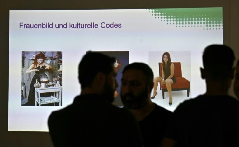 Germany's integration commissioner Annette Widmann-Mauz has called for sex education classes to be more widely offered to refugees, following a gang rape case in Freiburg, in which 10 of 11 suspects are refugees (AFP Photo/Tobias SCHWARZ)