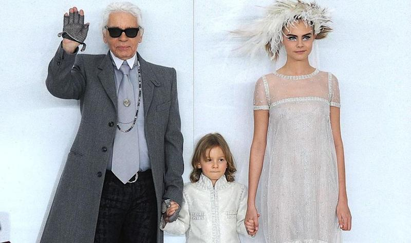Karl Lagerfeld. Photo: Getty Images.
