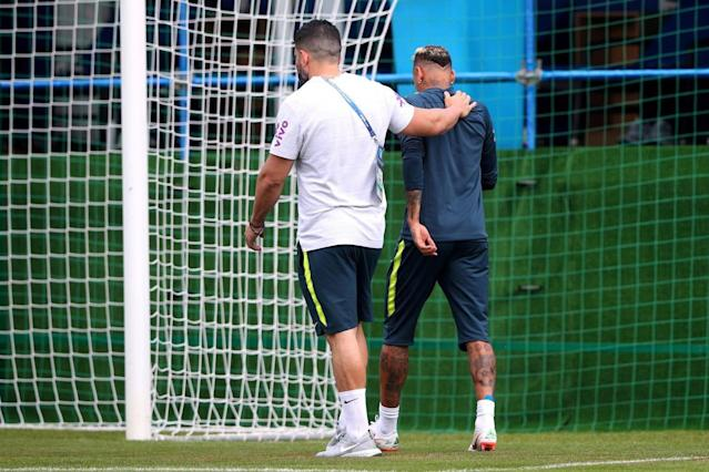 World Cup 2018: Neymar suffers fresh injury in training to same foot he broke to spark Brazil fears