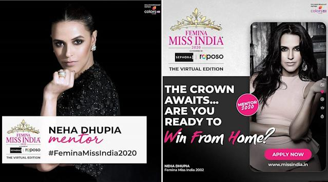 Miss India 2020 To Go Digital Neha Dhupia To Mentor Contestants View Post Reddit gives you the best of the internet in one place. miss india 2020 to go digital neha