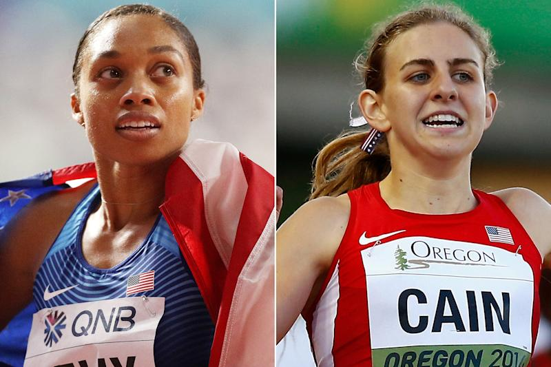 Olympian Allyson Felix Applauds Mary Cain for Speaking Out About Dark Side of Running: 'We're Not Alone'