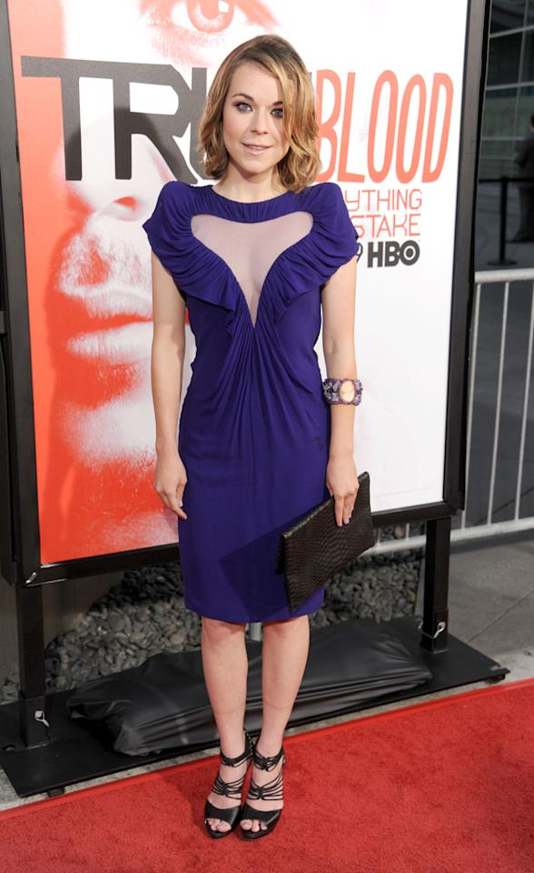 """Tina Majorino attends HBO's """"True Blood"""" Season 5 Los Angeles premiere at ArcLight Cinemas Cinerama Dome on May 30, 2012 in Hollywood, California."""