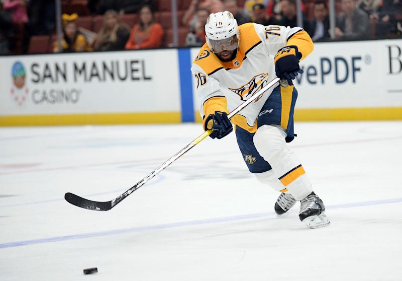 Predators send defenceman P.K. Subban to Devils for Santini, picks
