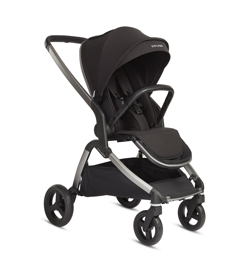 """The Colugo Complete stroller is aptly named because it comes with everything you need. Its high-tech, thoughtful features take a few tries to memorize, but it easily becomes part of your routine once you've adapted. I love how sturdy it is, the way it folds into itself, and how the seat can face in either direction. It also shifts up and down for the baby to take naps. —<a href=""""https://www.instagram.com/cinnamonryan/"""" rel=""""nofollow noopener"""" target=""""_blank"""" data-ylk=""""slk:Ryan Norville"""" class=""""link rapid-noclick-resp""""><em>Ryan Norville</em></a><em>, founder of</em> <a href=""""https://www.instagram.com/oatcinnamon/"""" rel=""""nofollow noopener"""" target=""""_blank"""" data-ylk=""""slk:Oat Cinnamon"""" class=""""link rapid-noclick-resp""""><em>Oat Cinnamon</em></a> $445, Colugo. <a href=""""https://hicolugo.com/products/the-complete-stroller?variant=31173572362310"""" rel=""""nofollow noopener"""" target=""""_blank"""" data-ylk=""""slk:Get it now!"""" class=""""link rapid-noclick-resp"""">Get it now!</a>"""