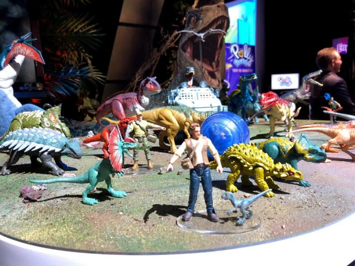 """You better believe there are a ton of """"Jurassic World: Fallen Kingdom"""" toys."""