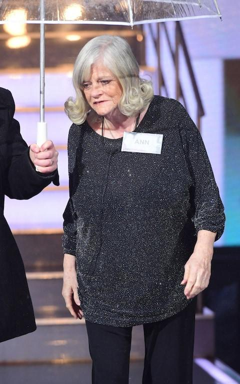 Ann Widdecombe enters the house - Credit: Ian West/PA