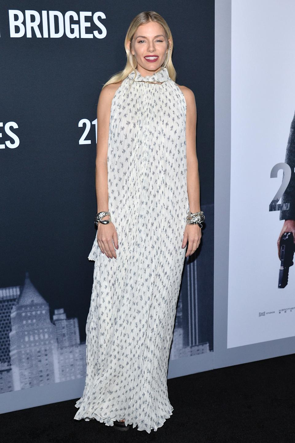 Sienna Miller wearing Chloe. <em>[Photo: Getty]</em>