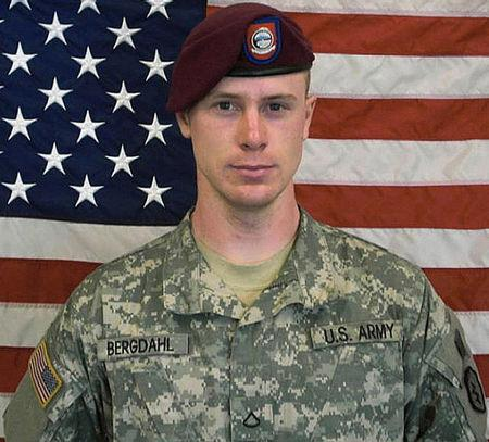 U.S. Army Sergeant Bowe Bergdahl is pictured in handout photo provided by U.S. Army