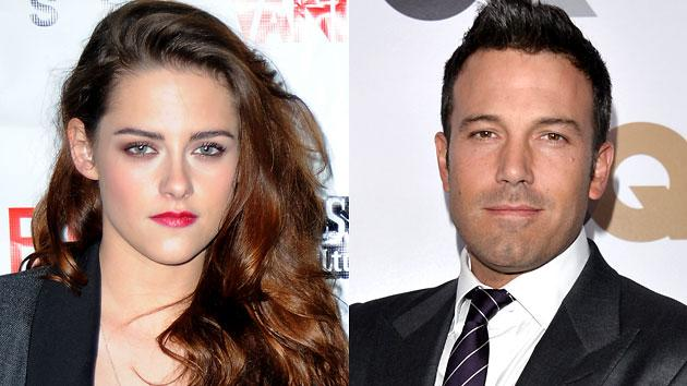 Kristen Stewart, left, and Ben Affleck are said to be love interests in a new comedy