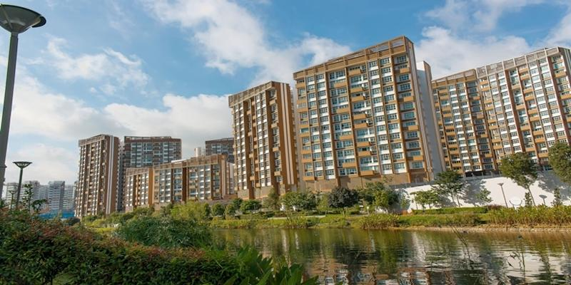 <p><img/></p>The newly launched Housing Board flats in Punggol attracted more attention than those in Yishun
