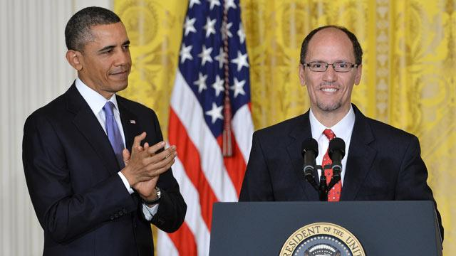 President Obama Nominates Perez to Be Labor Secretary