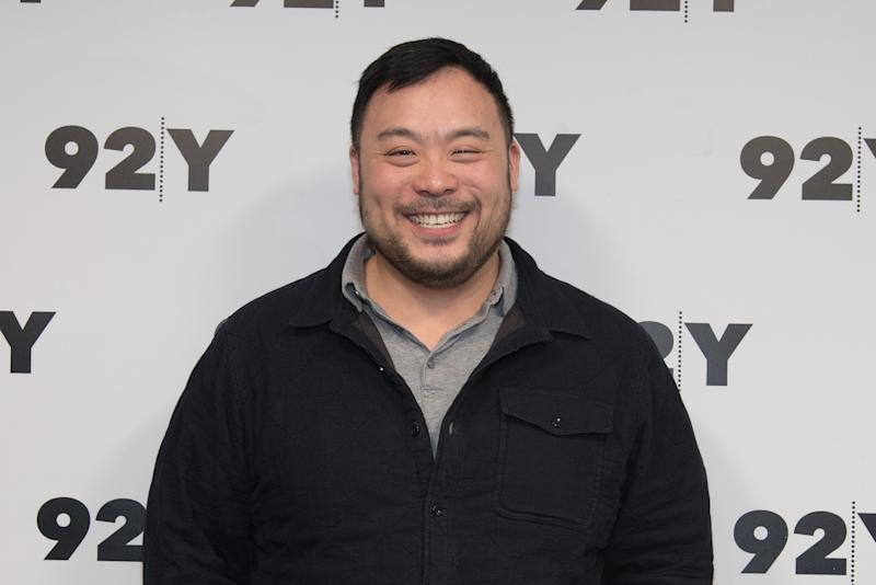 "David Chang said he hopes Majordomo Media will help teach people ""how to find <i>— and understand — </i>new and different things themselves."" (Yuchen Liao/Getty Images)"