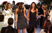<p>Although, you don't see the actual proposal go down in <em>Because I Said So, </em>the light-hearted, happy ending that is Daphne's (Diane Keaton) wedding is a high point of the film. </p>