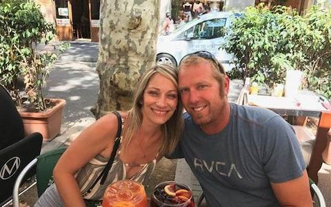 The last smiling photo of honeymooners Jared Tucker and his wife Heidi Nunes was taken just an hour before the atrocity.