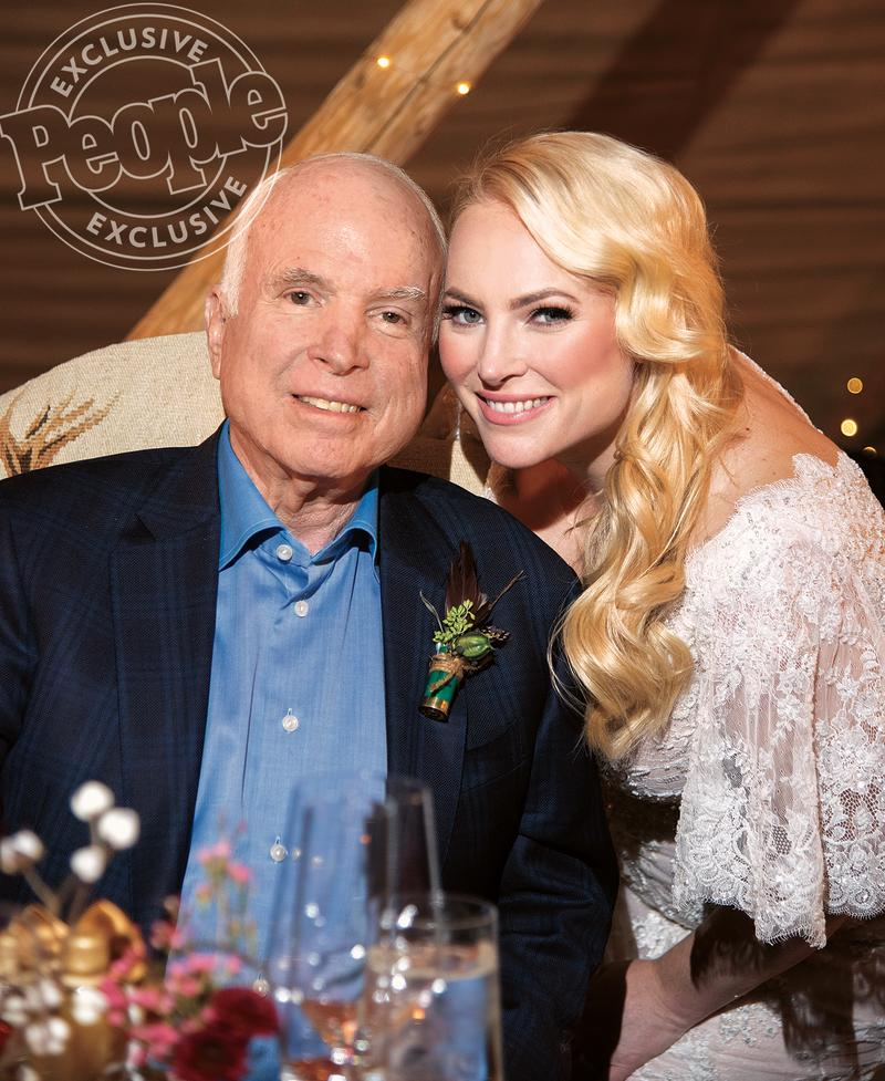 Senator John McCain Opens Up About Seeing Daughter Meghan
