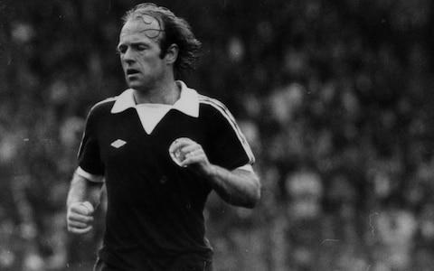 "They rose to applaud Archie Gemmill at the Scottish Football Writers' Association annual dinner in Glasgow on Sunday night, when he was the recipient of the organisation's first ever lifetime achievement award. The standing ovation that marked the high-water mark of Gemmill's career, however, was accorded him on June 11, 1978, in Mendoza, Argentina. That was when Gemmill produced one of the greatest goals seen in the World Cup, in the improbable circumstances of a previously farcical Scotland campaign, in the Scots' final group game and against a Dutch side who finished runners up at the World Cup. Gemmill's contribution became so totemic that it has featured in the movie 'Trainspotting' and in a tribute dance by English National Ballet. With Scotland needing to win by three goals to qualify for the next stage, after potentially ruinous setbacks against Peru and Iran, they led 2-1 midway through the second half, at which point the ball broke to Gemmill just outside the Dutch penalty area. He skipped past Wim Jansen – later to become manager of Celtic – avoided a robust challenge by Jan Poortvliet, nutmegged the usually imperturbable Ruud Krol and completed his slalom run with a perfect chip over the advancing goalkeeper, Jan Jongbloed. As Gemmill turned to celebrate, the entire global contingent in the press and broadcast seats stood to salute his wizardry. Sunday's accolade acknowledged a playing career which included 43 caps and eight goals for Scotland and a club career that saw him perform in midfield for St Mirren, Preston, Derby County (twice), Birmingham City and Wigan Athletic plus management stints with Rotherham United and Scotland under 19s but - as the 71-year-old acknowledged, with a mixture of pride and resignation – it always comes back to that goal in Mendoza, even though the Dutch scored again to knock the Scots out. Gemmill before a match against Brazil in 1977 Credit: REX/SHUTTERSTOCK ""Whenever a World Cup comes around people want to ask about the goal,"" Gemmill said. ""It was fantastic at the time, even if it didn't help us a great deal in the tournament itself, but over the years, it's given a few people some joy – and a bit of hope, I suppose for the future. ""It was a special moment for me. I'd like to think it'll be remembered long after I'm gone. I'm not the type to watch it. I couldn't tell you the last time I saw the goal. ""As a player, I always thought my job was just to play as well as I possibly could. If anything came of it, great. If not, you had to try even harder next time, but even people at home in Derby still ask me about the goal and, the odd time I come back up to Scotland, it's all anyone wants to talk about – nothing else."" Credit: GETTY CREATIVE A decade elapsed between Gemmill's international debut against Belgium in 1971 and his final appearance, against Northern Ireland. He might have reached the 50-cap mark, but for the fact that he was never in favour with a certain Scotland manager. ""Before Tommy Docherty took over, I was well in the squad, but he bombed me out totally,"" Gemmill said. ""We played England in 1972 and I was opposite Alan Ball, who was getting the better of me. ""Docherty took me off just into the second half and that was me. I was never in another squad for three years. Docherty also came to Derby and got rid of me from there as well. ""Similarly, I was Scotland captain when Ally MacLeod took over and he gave it to someone else, but I always came back, because you want to play for your country as many times as you can. ""I got 43 caps but in those three years I was out, I could have got to 50 and into the Hall of Fame. It would have been a landmark for me. ""Players, probably with less ability, get to 50 caps now because there are so many games, but you have to live for your time. Throughout my football career, I always had to try and prove a point to someone. I never coasted. ""Brian Clough got rid of me at Derby and when I went to Birmingham I was bombed out there as well, but the year Derby got rid of me I was voted their player of their year. Then, the year I left Birmingham, I was their player of the year as well. ""When I started out, I was ever so tiny. I'm not that much bigger now. For Scotland U15's I played in a trial match and scored a couple of goals, but the squad was named to play England at Wembley and I wasn't even in it because I was too wee. I was told I'd never make it because of my size, but I had a bit of skill and tenacity about me."" And what of the prospects now for Scotland, managed by Gemmill's former international team mate, Alex McLeish? ""Gordon Strachan was probably only a matter of minutes away from getting us to the World Cup play-offs,"" said Gemmill. ""It looks like one or two talented youngsters are starting to come through - we just have to hope that these kids fulfil their promise in a Scotland jersey."" Archie Gemmill was speaking as the winner of the SFWA's first ever Lifetime Achievement Award, sponsored by Scottish Power."