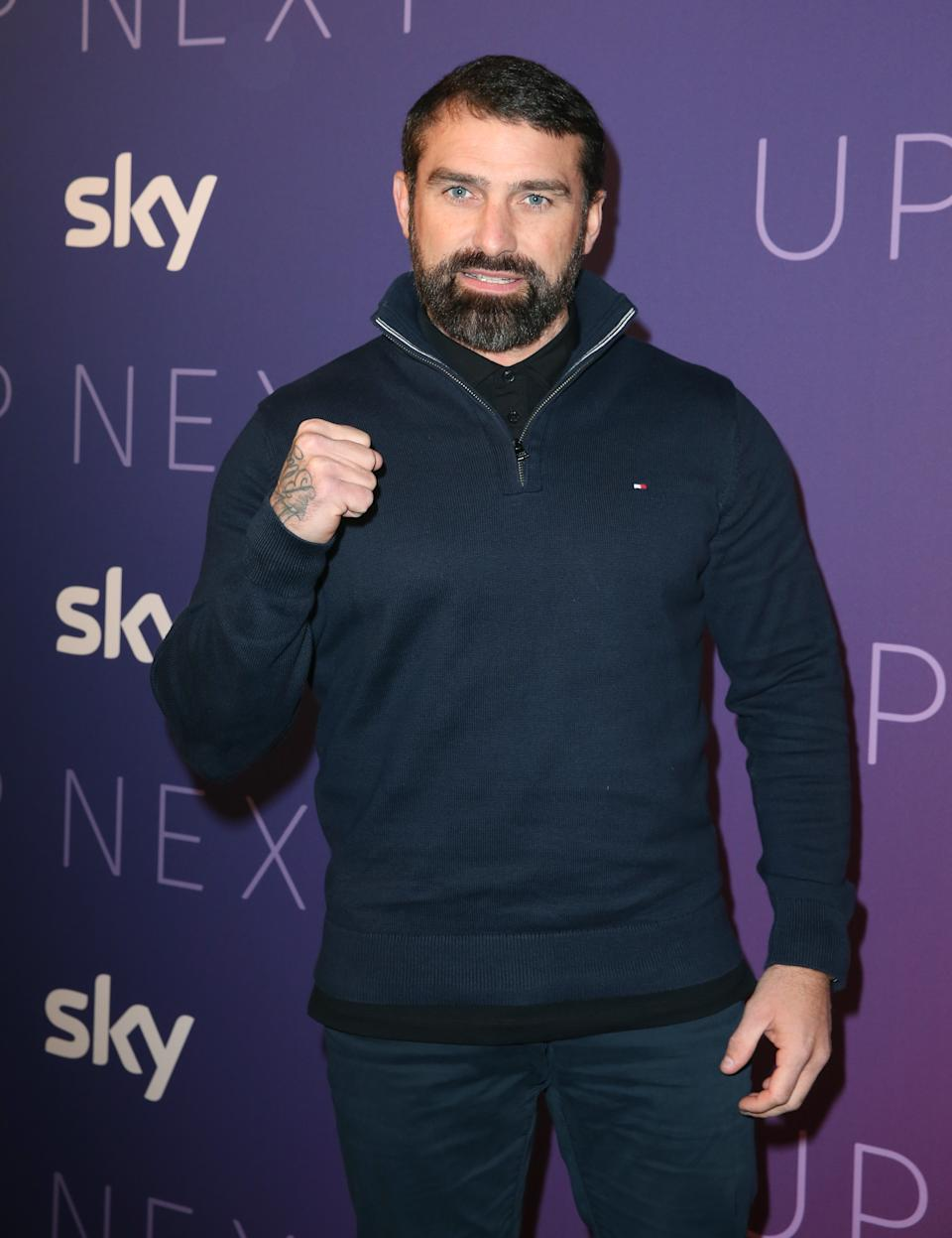 Ant Middleton arrives for the Sky Up Next showcase at the Tate Modern, London.