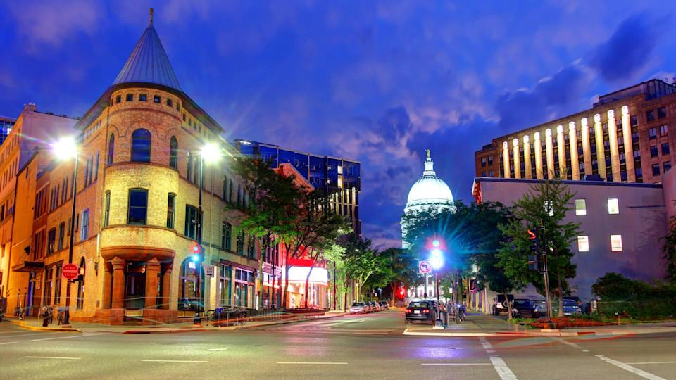 Madison is the capital of the U.