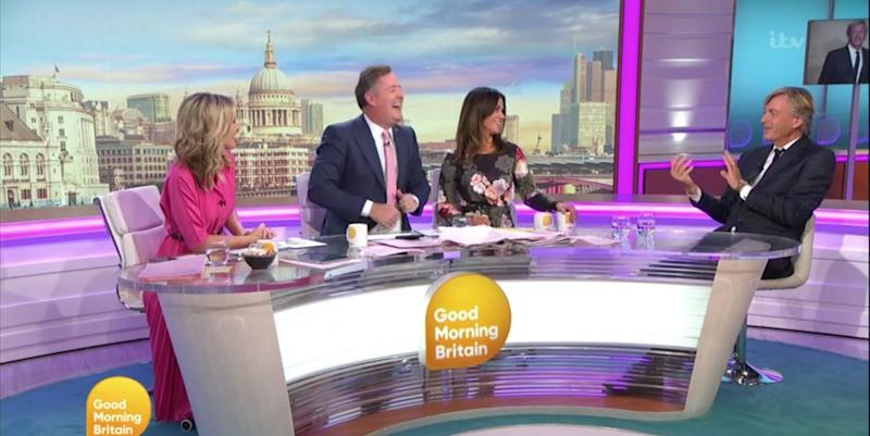 Good Morning Britain's Richard Madeley shares lessons learned from The Circle
