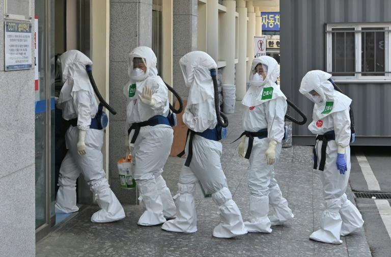 South Korea reported zero new locally transmitted infections (AFP Photo/Jung Yeon-je)