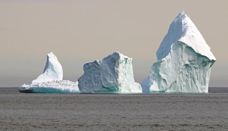 Photos can't do the iceberg's scale or beauty justice, says Candice (Jared Clarke)