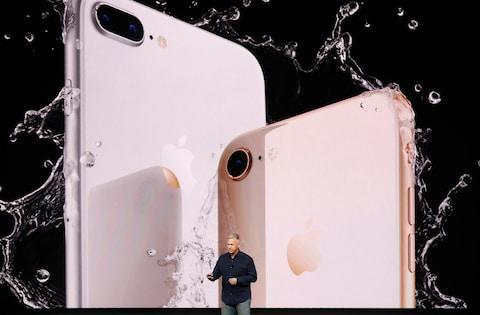 It has an all-glass design that is water resistant and scratch proof - Credit: Reuters