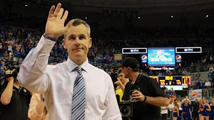 The Thunder are hoping to persuade Billy Donovan to wave bye to college hoops. (AP)
