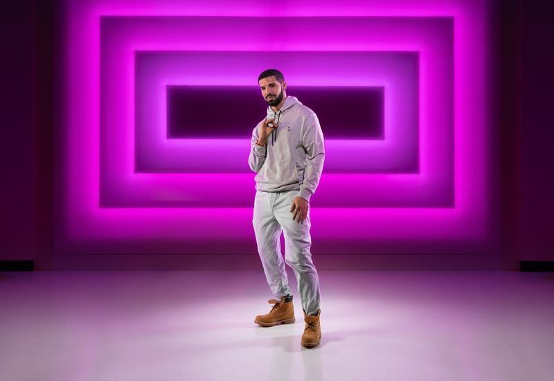 Drake made in wax as part of 'Hotline Bling' recreation at Madame Tussauds in Las Vegas