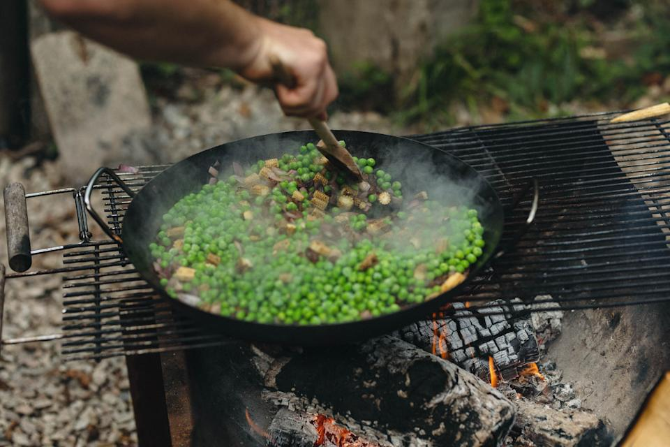 Food tastes better when cooked on an open fireThera-Sea