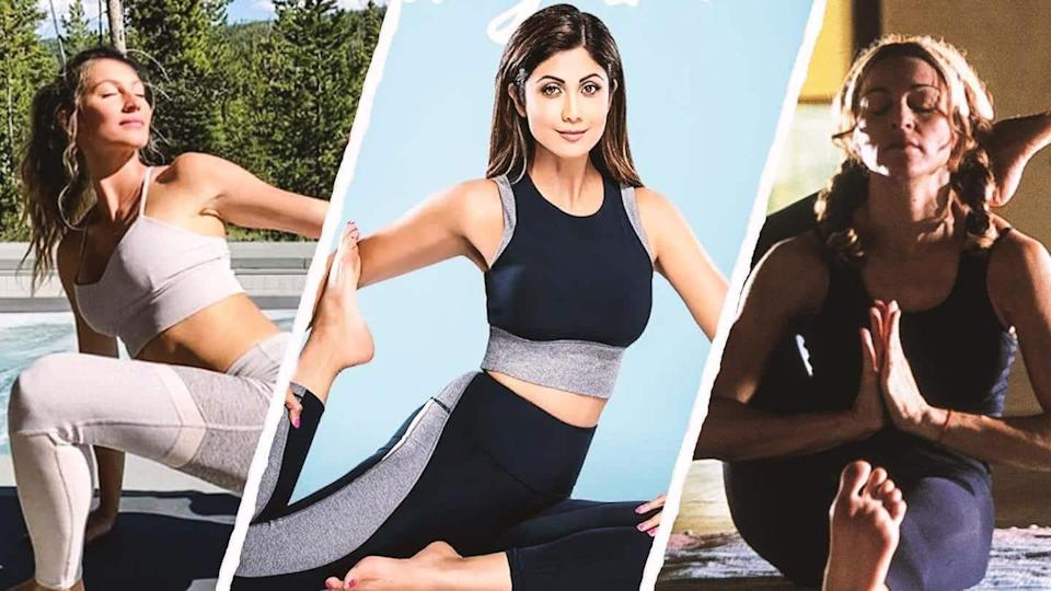 International Yoga Day: Actresses who shed post-pregnancy weight through yoga