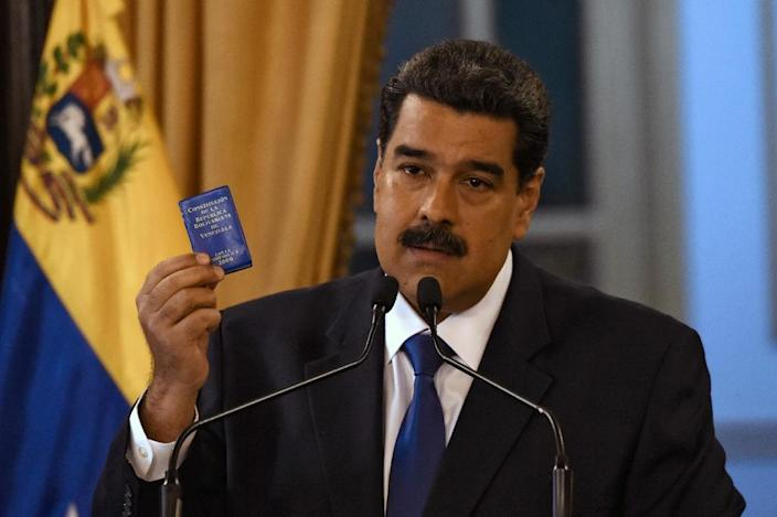 Under the guidance of President Nicolas Maduro, Venezuela has descended into economic crisis marked by hyperinflation, recession and shortages of basic necessities including food and medicine (AFP Photo/JUAN BARRETO )