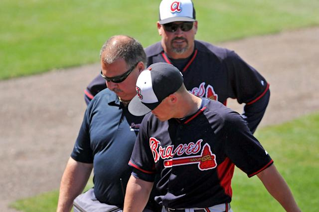 Kris Medlen has ligament damage in elbow and will see Dr. James Andrews for 2nd opinion