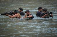 Resistance fighters take part in military training (AFP/Ahmad SAHEL ARMAN)