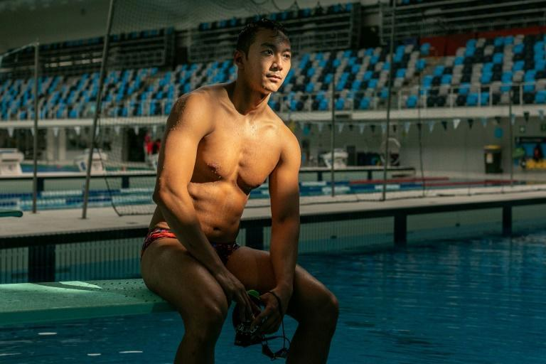 Win Htet Oo is one of Myanmar's top swimmers