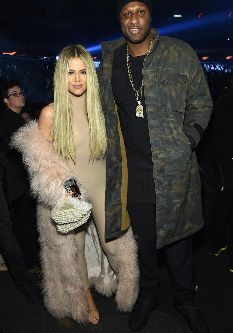 The reality star had a turbulent marriage to Lamar. Source: Getty