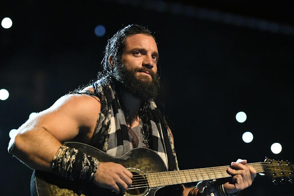 "WWE superstar Elias will take part in Sunday's ""Elimination Chamber"" pay-per-view at the T-Mobile Arena in Las Vegas. (WWE)"