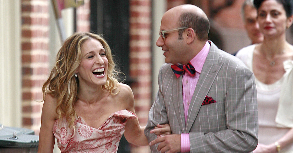 Willie Garson on Sex and the City.