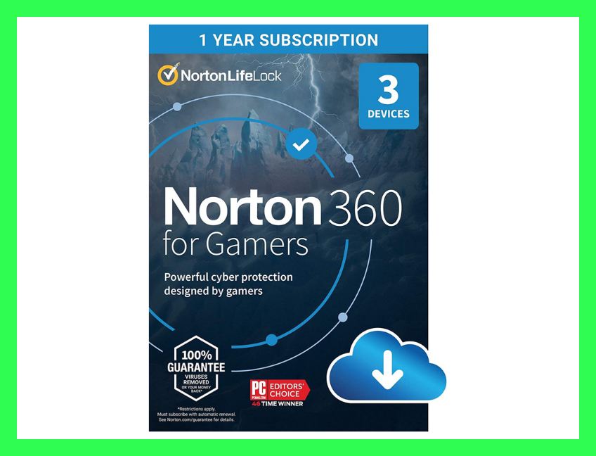 Save $70 on Norton 360 for Gamers for three devices. (Photo: Amazon)